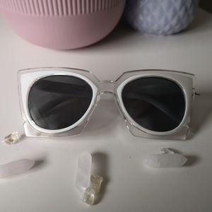 Accessories - Retro cat eye fashion sunglasses